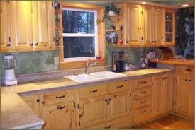 Update Knotty Pine Kitchen Cabinets