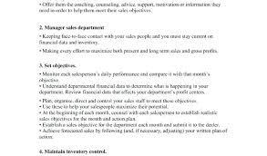 Resume Sales Associate Job Related Post Objective Statement