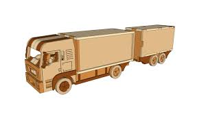 12 Ton Truck Trailer – Plans – DM Idea