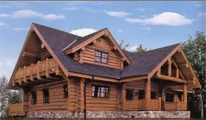 chalet en rondin en kit maison classique en kit bois massif