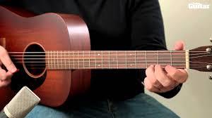 preli guitare a le guitar lesson rgt preliminary grade acoustic guitar part 1