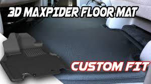 100 Custom Floor Mats For Trucks 3D MAXpider Fit Liners For Cars YouTube