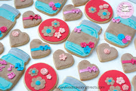 Decorated Shortbread Cookies by Mason Jar And Burlap Cookies Cakecentral Com