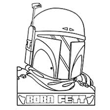 Boba Fett Helmet Pumpkin Stencil by 10 Amazing Boba Fett Coloring Pages For Your Little Ones