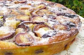 dessert aux quetsches recette aux prunes et aux amandes