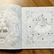 Enchanted Forest An Inky Quest Coloring Book For Children Adult Relieve Stress Kill Time Graffiti Painting Drawing