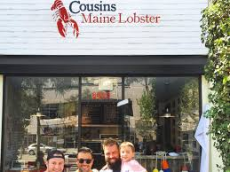 100 Cousins Maine Lobster Truck Menu Brings Giant SeafoodFilled Martini Glasses To