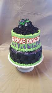 Grave Digger Cake | Risen Indeed Cakes & Pastries Creations ... Monster Jam Cake Crissas Corner Birthday Cakes Monster Jam Cakes Google Search Pinterest Mama Evans Truck Ideas Edible Images Homeinteriorplus Decoration Little Themed School Time Snippets Rees Times Spooky Rally With Led Lights By Angela Marie