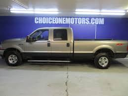 100 Long Bed Truck 2004 Used Ford Super Duty F250 4x4 Crew Cab Lariat FX4