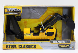 TONKA STEEL CLASSIC TRENCHER - Uncle Pete's Toys Tonka Cherokee With Snowmobile Vintage Diecast Steel Toys Kustom Tonkas Make Toy Cars For Kids Street Vehicles Toys Classic Steel Trucks Tonka Steel Classic Trencher Uncle Petes Classics Mighty Dump Truck Target Australia Ford Tonka Sale Images Drivins Mighty Diesel Yellow Big Dump Truck Steeltoy 4x4 Pickup Site Amazoncouk Games Metal Series Pinterest Metal Dating Trucks Navigation Stirs Nostalgia F750 Truck Abc7com