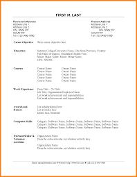 Cv Sample For Fresh Graduate Doccaptivating Resume Pdf 100 Format Doc