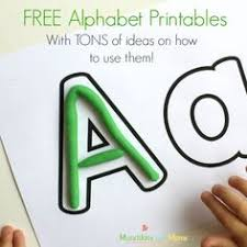 FREE Alphabet Printables And Activity Ideas