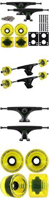 Other Longboard Parts 165947: Bear 181Mm Black Longboard Trucks 75Mm ...