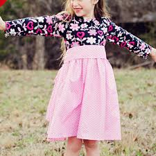 Pretty In Pink Girls Dress Pattern