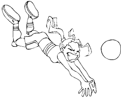 3 Exceptional Volleyball Coloring Pages