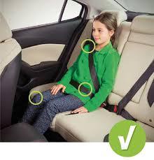 l abc des sièges d auto pour enfant ssq