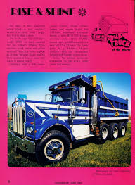 Photo: June 1983 Dump Truck Of The Month | 06 Overdrive Magazine ...