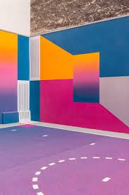 100 Paris By Design Colourful Basketball Court By Pigalle Duperr Art