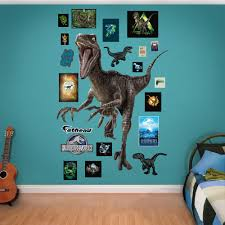 Fathead Princess Wall Decor by Velociraptor Jurassic World Fathead Wall Decals