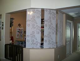 Nicole Miller Home Two Curtain Panels by Curtain Panel Bluff And Room Divider Ikea Hackers I Used Two
