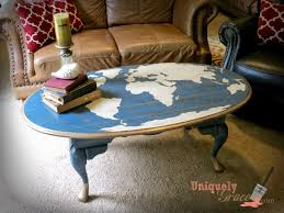 Happy Earth Day! - Oak Table Flip To World Map Statement ... Diy Refinished Painted Kitchen Table Dazzling Hospality Bentleyblonde Farmhouse Ding Set Makeover Fascating Antique Square Oak And Chairs Fniture Solid Pine Round With Refishing The Room Shannon Claire Just Chalk Paint Fabric How To Refinish Wooden A Bystep Guide A Its Actually Extremely Easy Refishing Table And Chairs Transform Vintage Bluesky Projects Sarah Joy