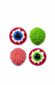 Halloween Eyeball Jello Molds by Amazon Com Wilton 2115 0223 Halloween Brain Candy Eyeball Cookie