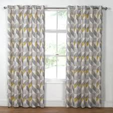 White And Gray Curtains Target by Gray And Yellow Shower Curtain Target Bathroom Ideas Black Yellow