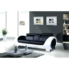 canape blanc noir canape blanc et noir canapac cuir avec fauteuil assorti cardinal 3