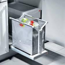 poubelle de cuisine coulissante monobac poubelle tiroir cuisine nevel me