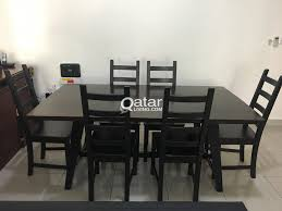 100 Large Dining Table With Chairs With 4 Qatar Living