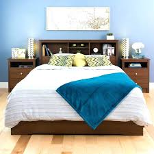 Queen Size Waterbed Headboards by Bookcase Bed Frame Queen Image Of Solid Platform Bed No Slats