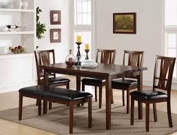 6 Pcs Dixon Dark Espresso Dining Room Set