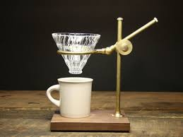 The Professor Pour Over Coffee Stand Large2
