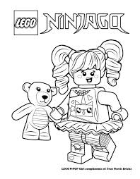 LEGO Colouring Page N POP Girl