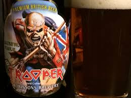 Ichabod Imperial Pumpkin Ale by Iron Maiden U0027s Trooper Ale Strikes A Flat Note Review