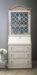 jasper cabinet co vintage bar painted in annie sloan cream