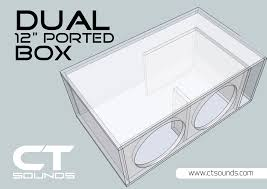 CT Sounds | Dual 12 Inch PORTED Subwoofer Box Design Atrend E12dt Bbox Series Dusealed Truck Box 12 Inch Building An Mdf And Fiberglass Subwoofer Enclosure How Its Done Ct Sounds Dual Ported Design To Build A Speaker Steps With Pictures Wikihow Amazoncom Bbox E12st Single Sealed Carpeted Help 1998 Dodge Ram 1500 Extended Cab Carav F150 Supercrew 210 Vented 200918 Soundqubed Your Source For Car Audio Subwoofers Amplifiers Twin 12inch Angled Boxes 12inch Shallow Mount Crutchfieldcom