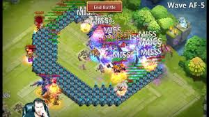 Castle Clash Pumpkin Duke Best Traits by Hbm Af 5 Defeated Showing The Full Set Up Used Castle Clash Youtube