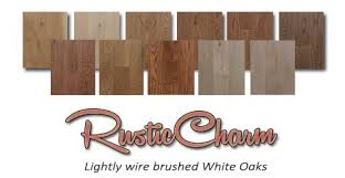 Light Wire Brushed White Oaks