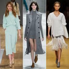 Fall 2015 Trends New York Fashion Week