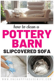 How To Clean Your Pottery Barn Slipcovered Sofa - One Happy Housewife Host And Hostess Chairs Slipcovers By Shelley Pb Comfort Square Arm Grand Armchair Slipcover Linen Blend Garnet Ding Room Chair Jacquard Flower Stretch Couch And Covers Decor Charming Pottery Barn For Sofa Covering Fniture Get A Modernized Look Your Ikea Ektorp Cameron Roll Sleeper Performance Everydaylinen Chairs Enticing With Stunning Old Design Marvelous Ethan Allen Reviews Crate Decorating Interior Home To Entertain Family 86 Off Accent With Two Washable Winsome Slipper Elm West Armless S Simply Cover