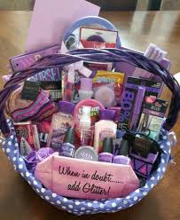 Sweet 16 Gifts Sweet 16 All Purple Basket Gift Ideas Pinterest Sweet