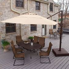 Tilt Patio Umbrella With Base by 20 Best Offset Cantilever And Patio Umbrellas Images On Pinterest