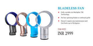Bladeless Ceiling Fan India by Bladeless Fan India Safe U0026 Noise Free Bladeless Fan