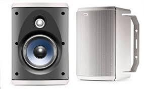 Polk Ceiling Speakers Amazon by Amazon Com Polk Audio Atrium 55 All Weather Speakers Pair White