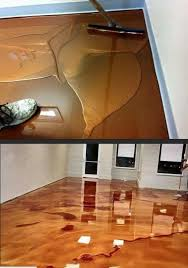 This Is Metallic Epoxy Flooring If You Think It Looks Like