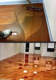 This Is Metallic Epoxy Flooring If You Think It Looks Like