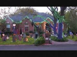 amazing nightmare before christmas halloween decorations youtube