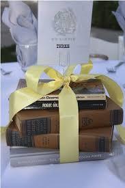 Book Centerpiece Yellow Ribbon