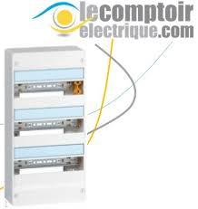 legrand coffret electrique drivia 3 rang 13 mod 401213